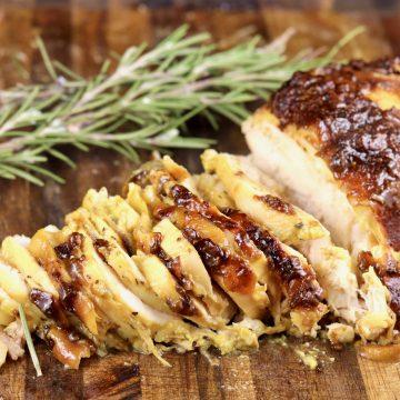 sliced chicken
