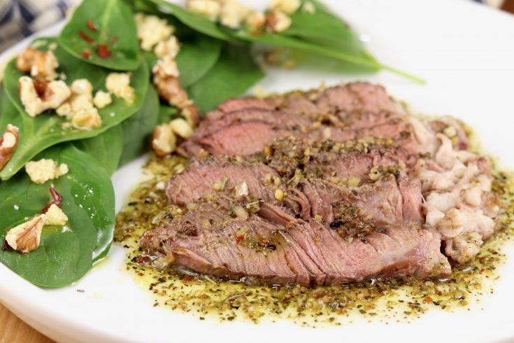 Grilled Sicilian Style Steak