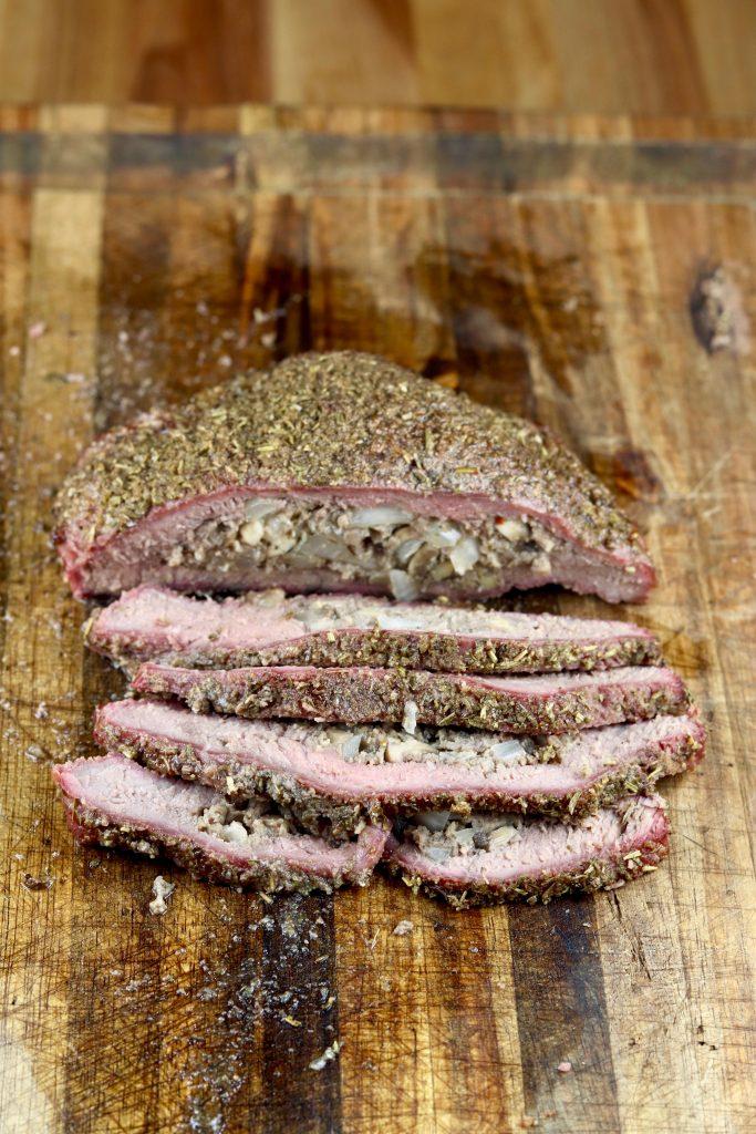 Sliced Stuffed Steak