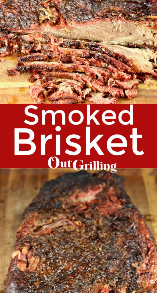 Smoked Brisket is the holy grail of all grilled meats. This recipe includes a sweet garlic rub that creates a delicious crust for your tender and juicy brisket.