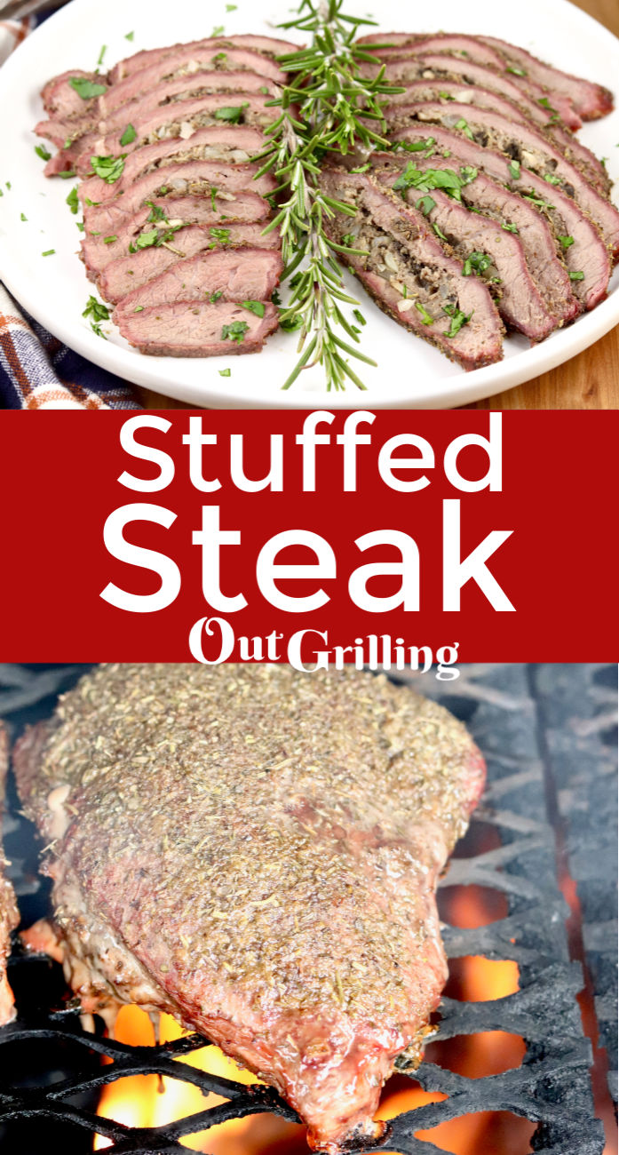 Sausage Stuffed Steak is easy, juicy and a great way to grill a less expensive cut of steak into something that is hard to beat.