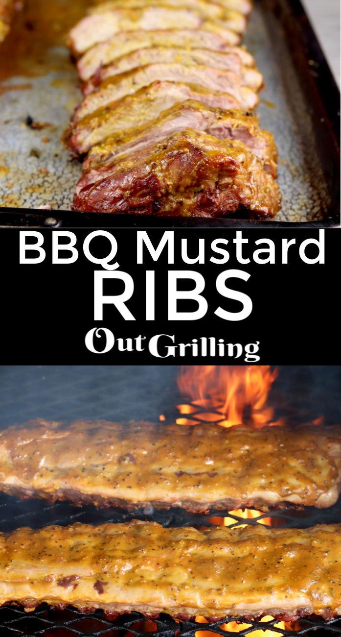 BBQ Mustard Ribs