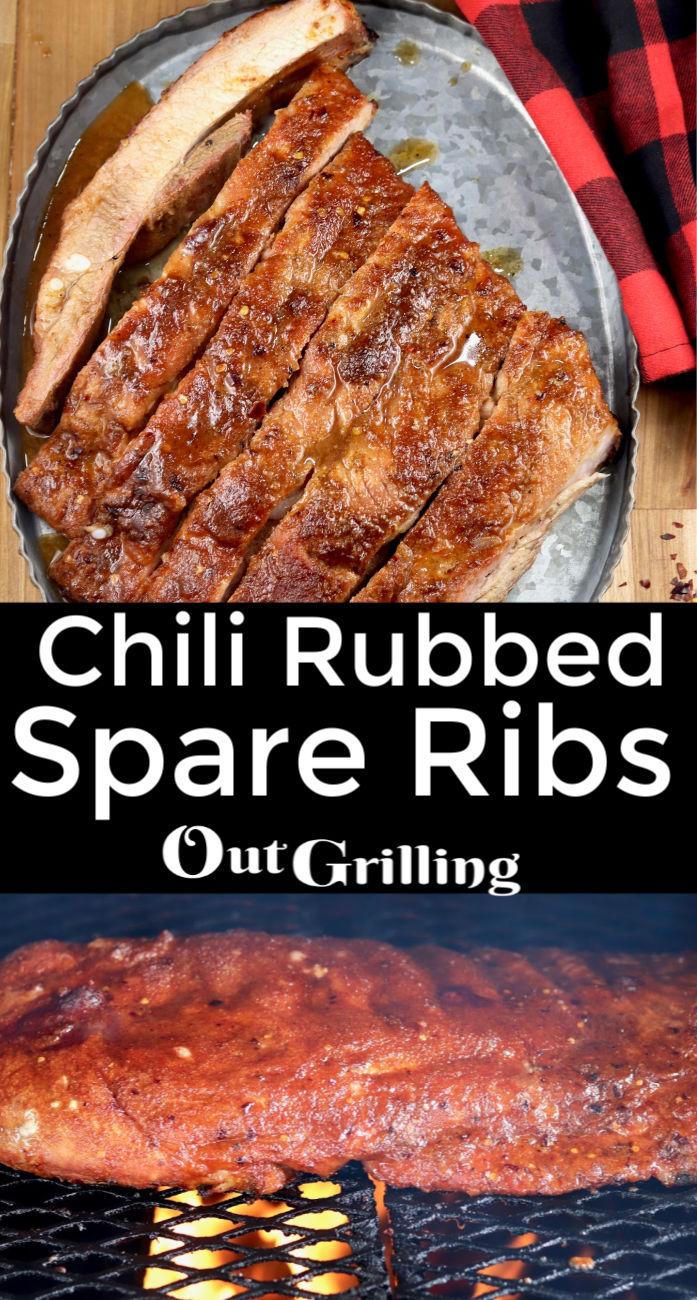 Chili Rubbed Spare Ribs