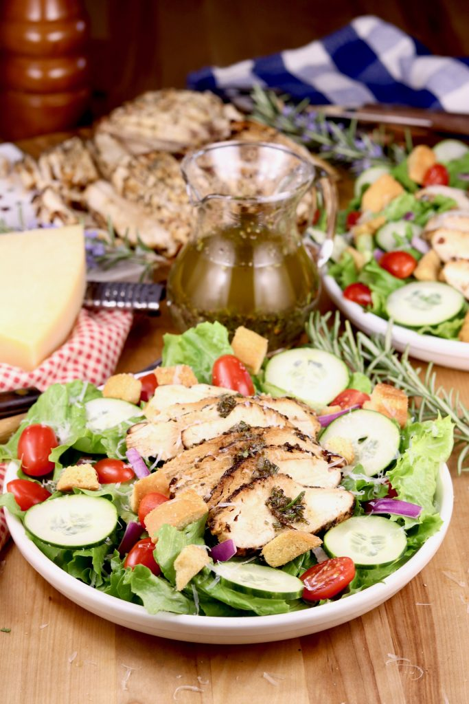 Rosemary Grilled Chicken Salad