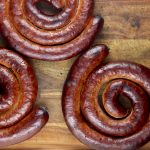 wild hog maple smoked sausage