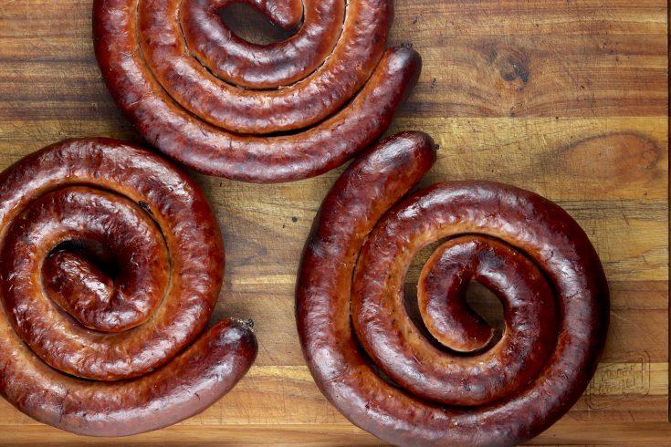 wild hog maple smoked sausage