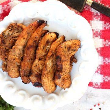 Honey Grilled Chicken Tenders