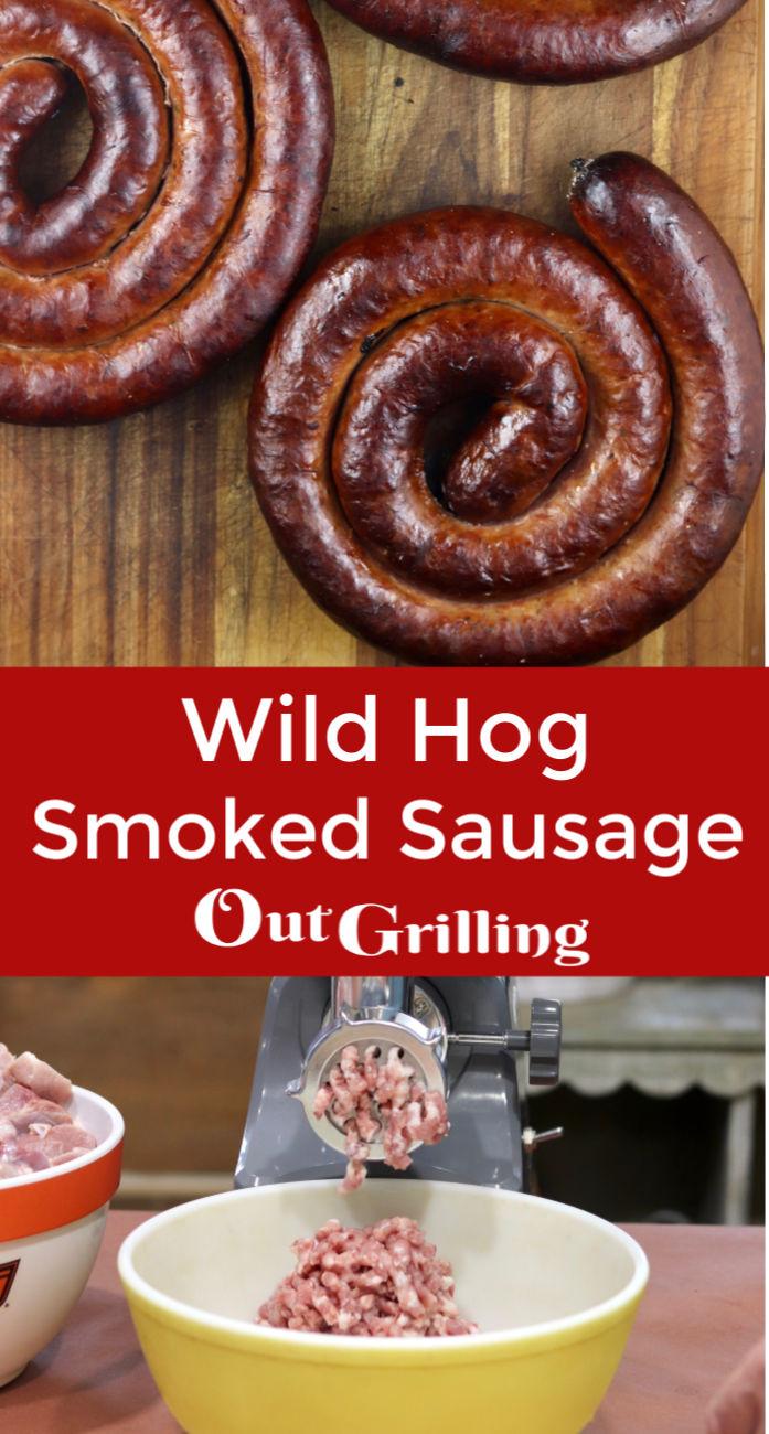 Wild Hog Smoked Maple Sausage