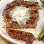 Garlic Butter Ribeye Steaks