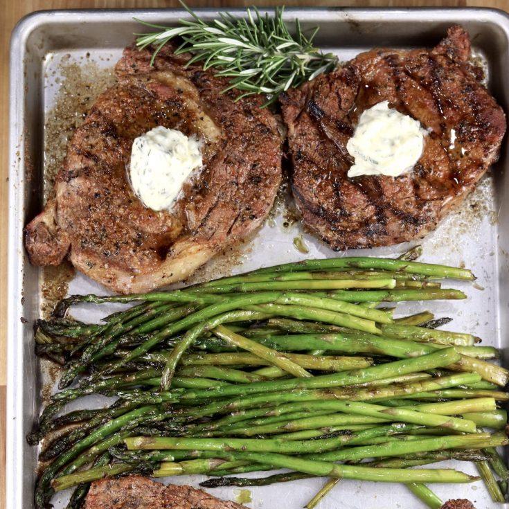 Garlic Butter Steaks