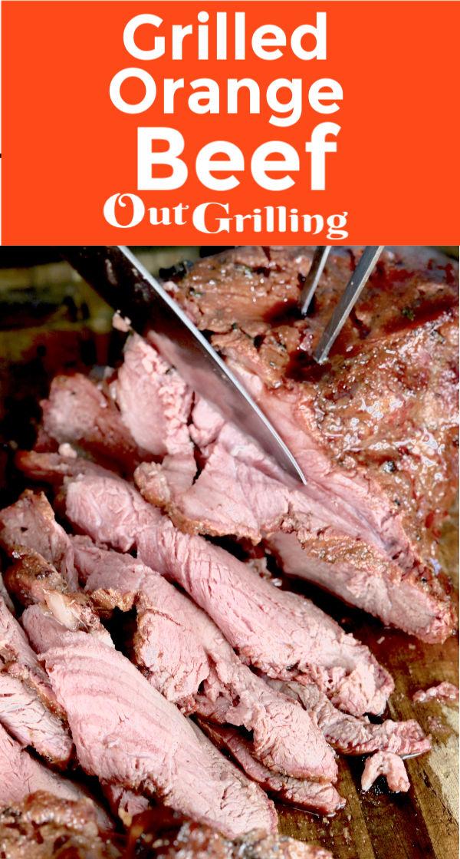 Grilled Orange Beef