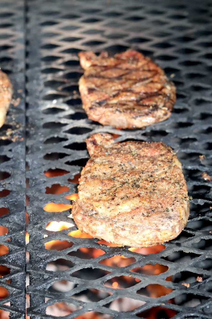 Grilling Garlic Butter Ribeye Steaks