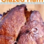 Maple Glazed Ham with text header