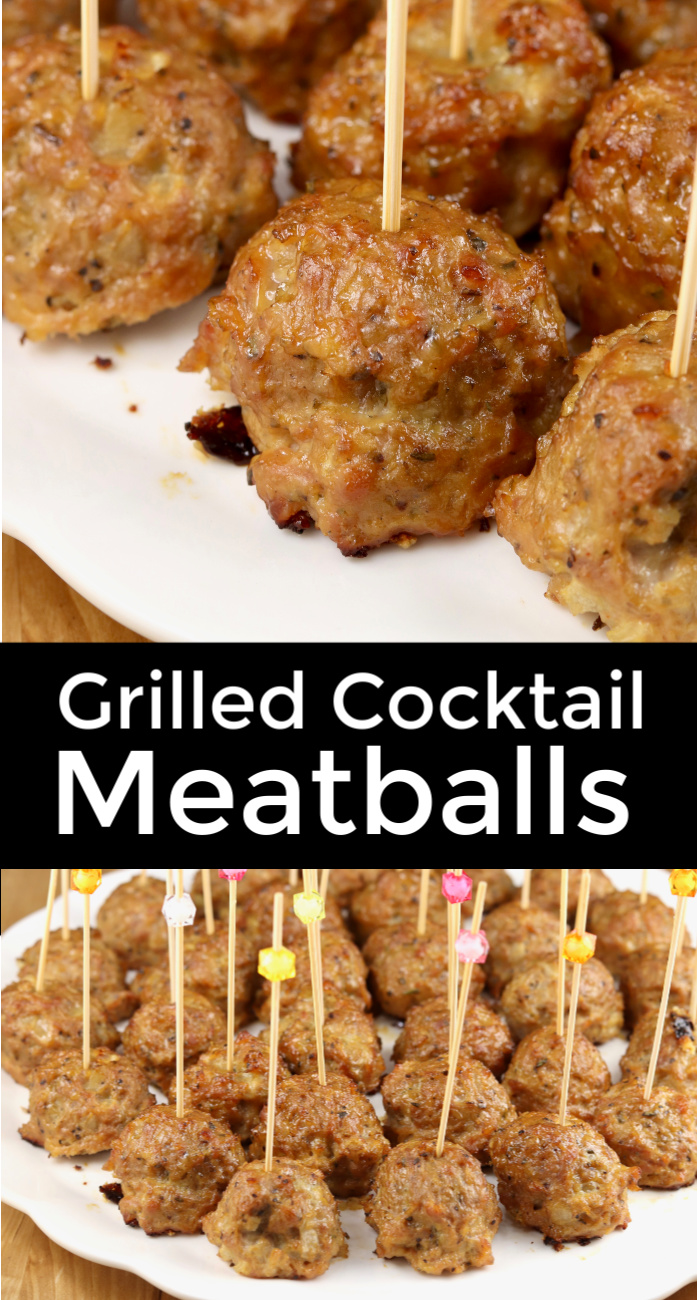 Grilled Cocktail Meatballs