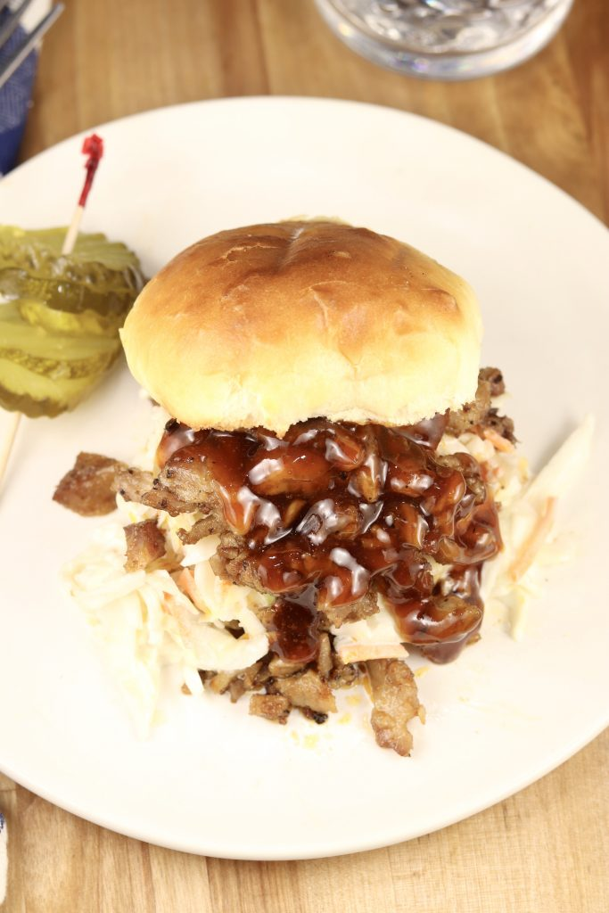 BBQ Pork Shoulder Sandwiches