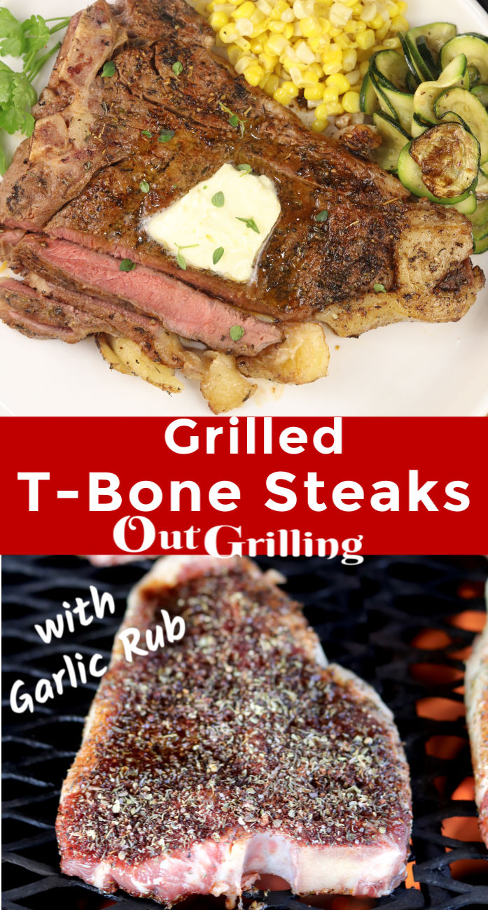 Grilled T-Bone Stekas