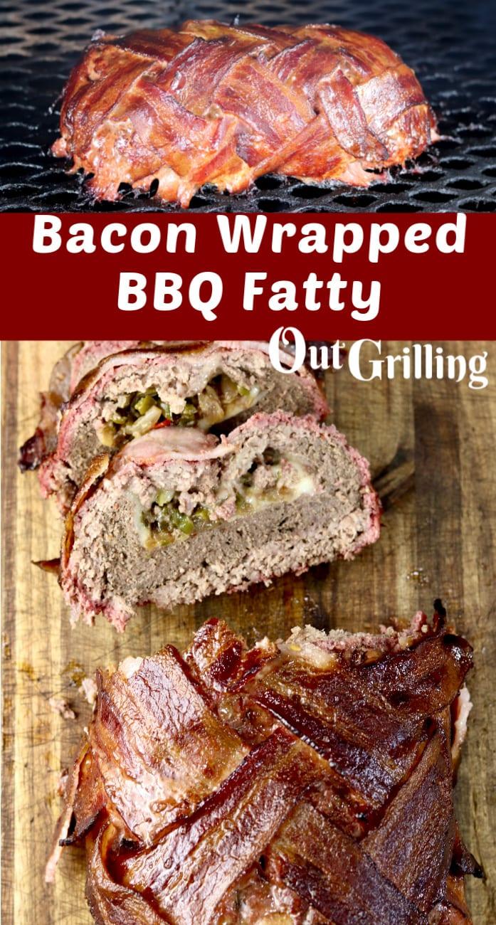 Bacon Wrapped BBQ Fatty