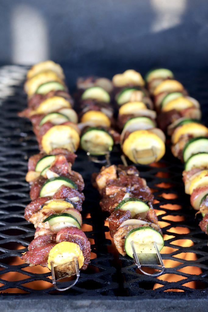 Grilling Steak Kabobs