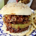 Stuffed Pepper Burgers