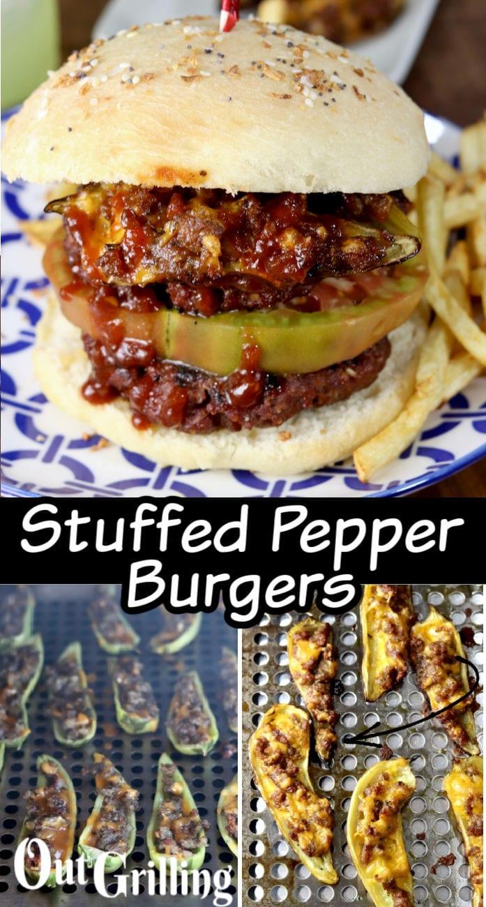 Stuffed Pepper Burgers