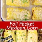 Foil Packet Mexican Corn