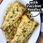 Grilled Garlic Butter Fish & Zucchini NoodlesGarlic Butter Grilled Fish with Zucchini Noodles is a quick and easy dinner to make any night of the week. A healthy and filling dinner that the entire family will love.