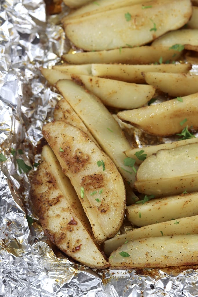 Grilled Potato Foil Packet