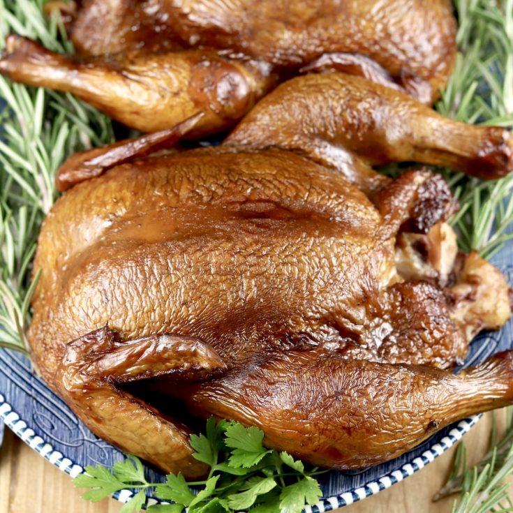 Apple Cider Smoked Chicken