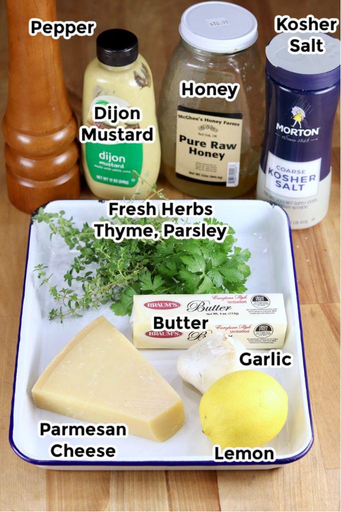 Ingredients for Lemon Garlic Sauce