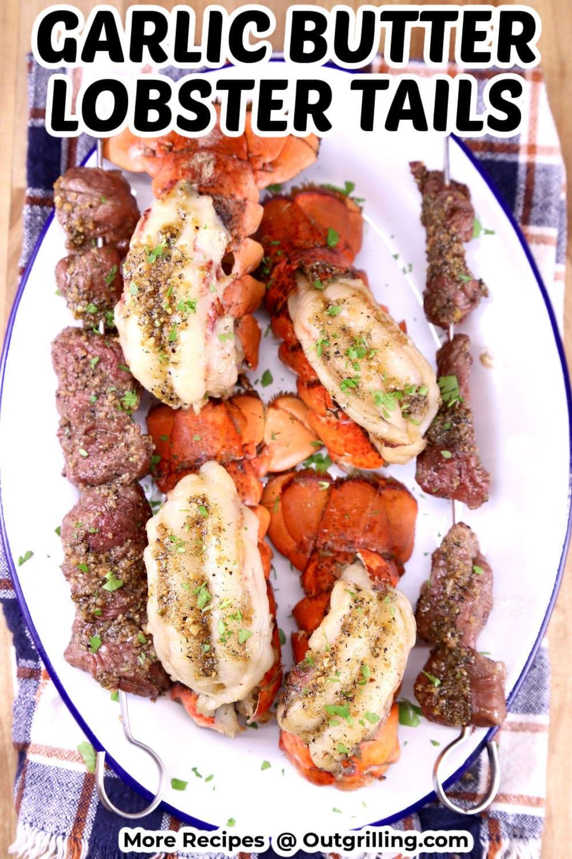 Garlic Butter Lobster Tails