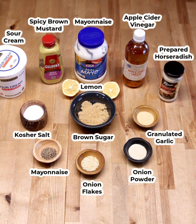 White BBQ Sauce Ingredients