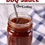 Dr Pepper Jalapeno BBQ Sauce with text header