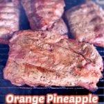 Orange Pineapple Marinated Ribs