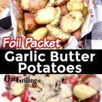 Foil Packet Potatoes collage