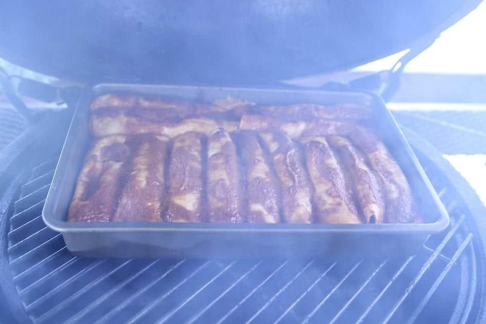 chicken enchiladas on the grill