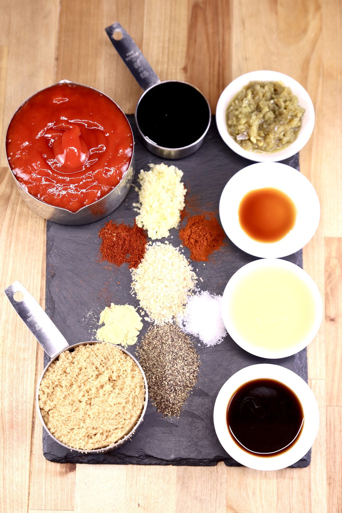 ingredients for jalapeno bbq sauce