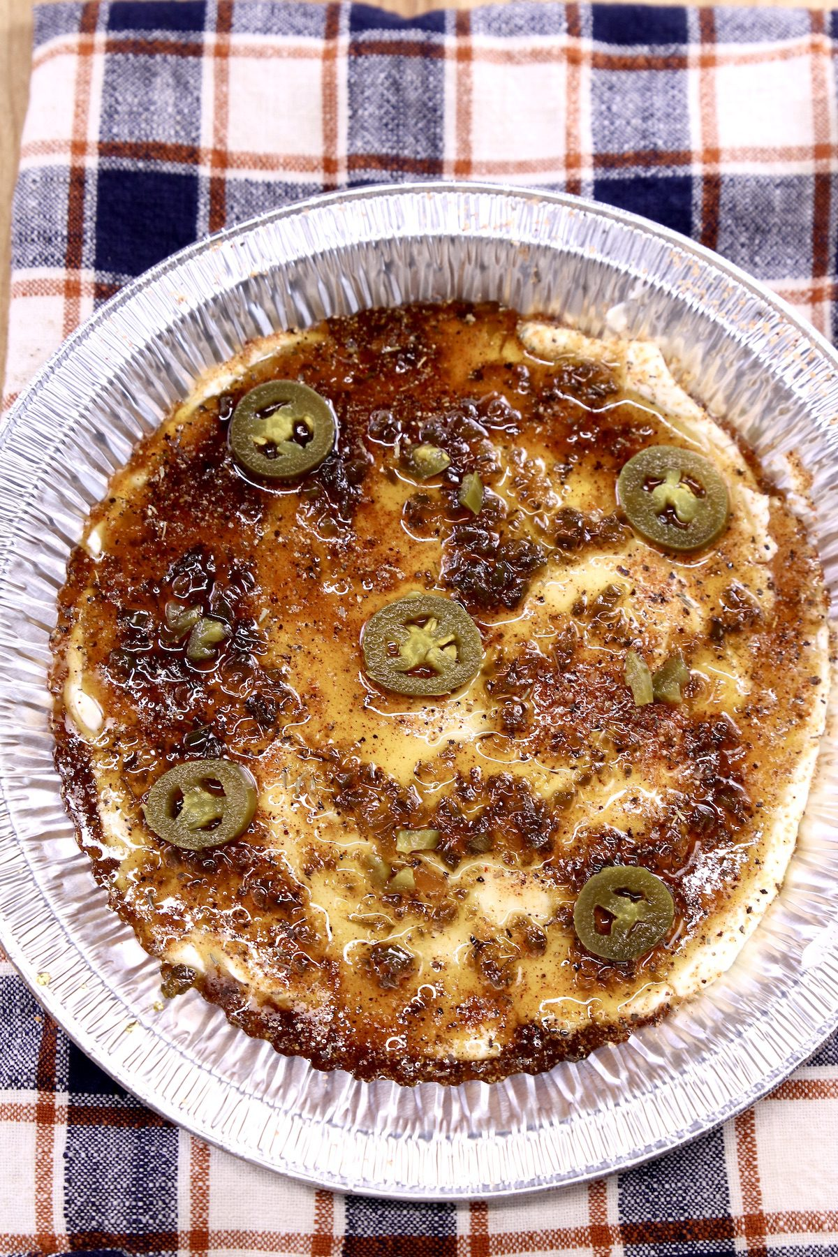 cream cheese dip with jalapenos