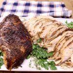 smoked turkey breast, alf sliced