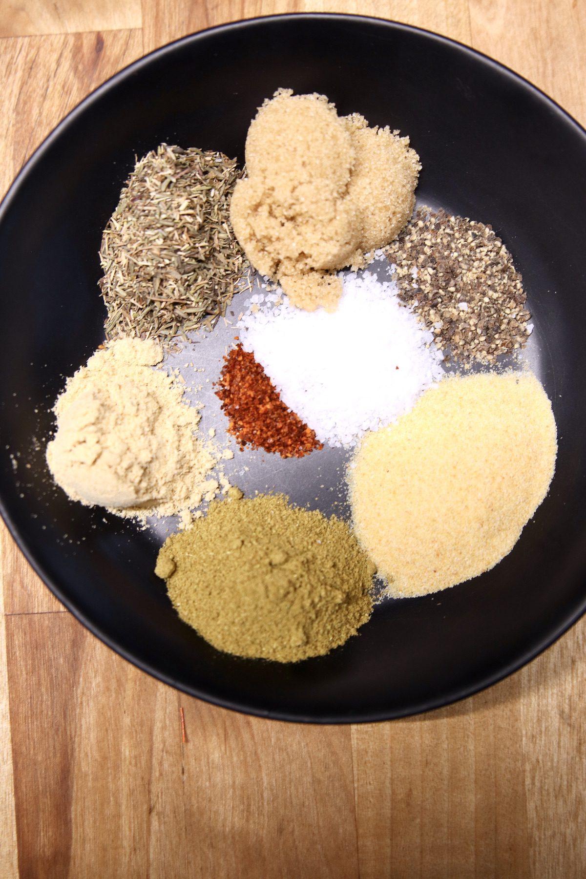 Spices for orange glaze