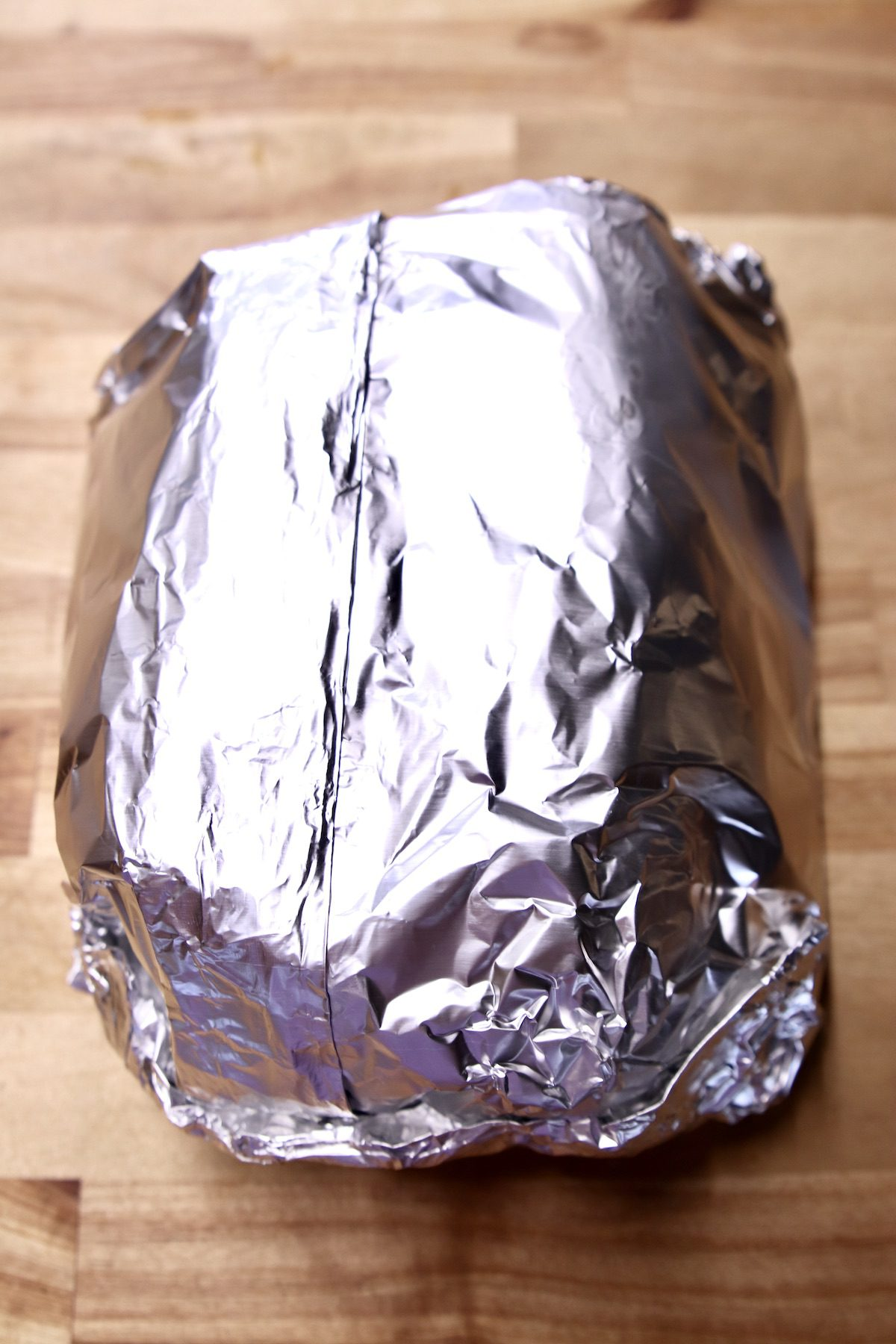 foil packet of corn on the cob