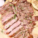 Sliced T-Bone Steak